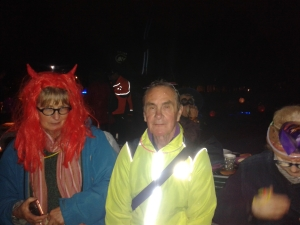Halloween bash in Burgess Park, Oct 2015