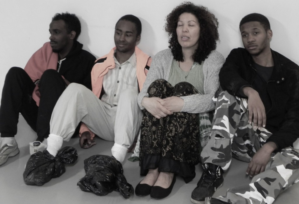 © Grace Ward, cast of Calais, Moe Idris Christien Bart-Gittens,  Linda Gathu, Michael Oku