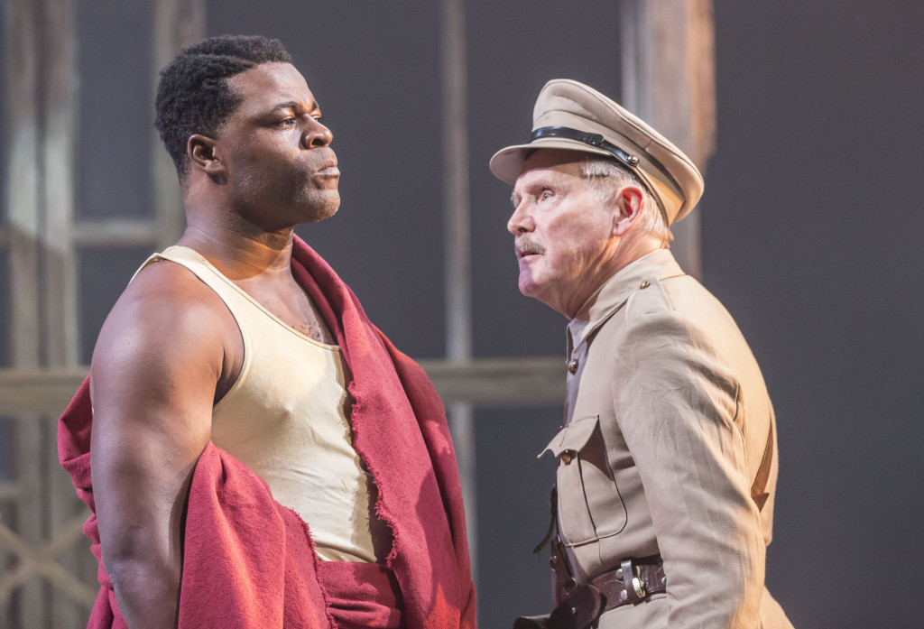 © Johan Persson, Danny Sapani (Tschembe Matoseh), Clive Francis (Major George Rice)