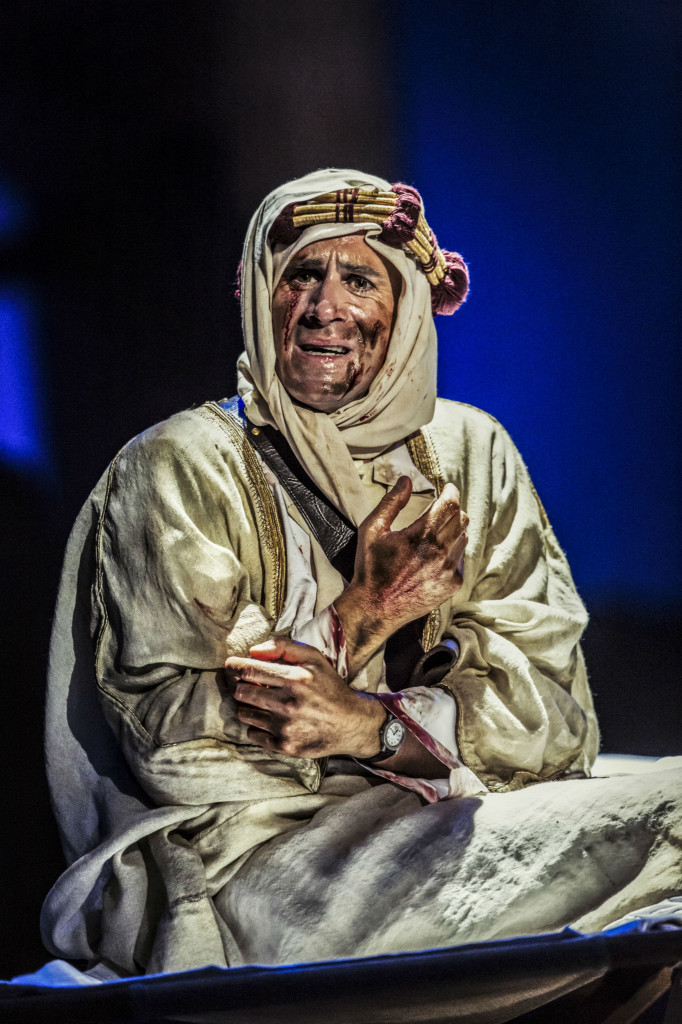 © Johan Persson, Joseph Fiennes as T E Lawrence