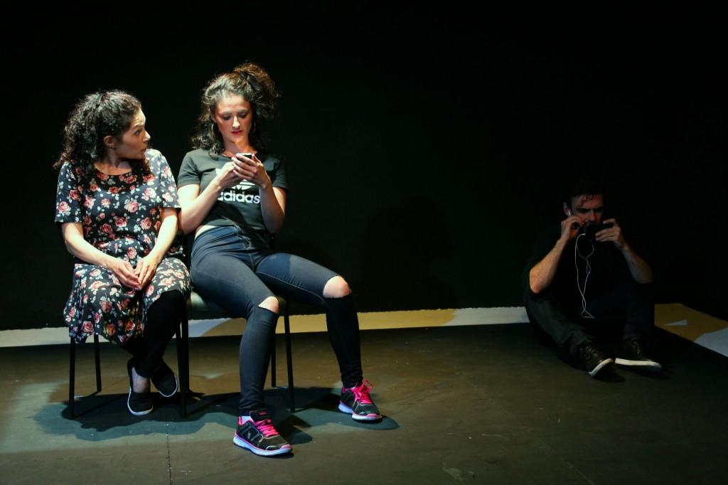 © Pank Sethi, Fisun Burgess (Emine - mum), Nadia Hynes as Ayse, her daughter, Declan Perring, Al
