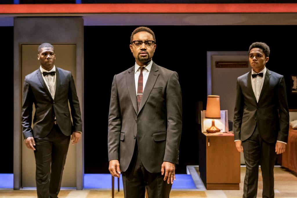 © Johann Persson, Dwane Walcott (Kareem), Francois Battiste (Malcolm X), Josh Williams (Jamaal)