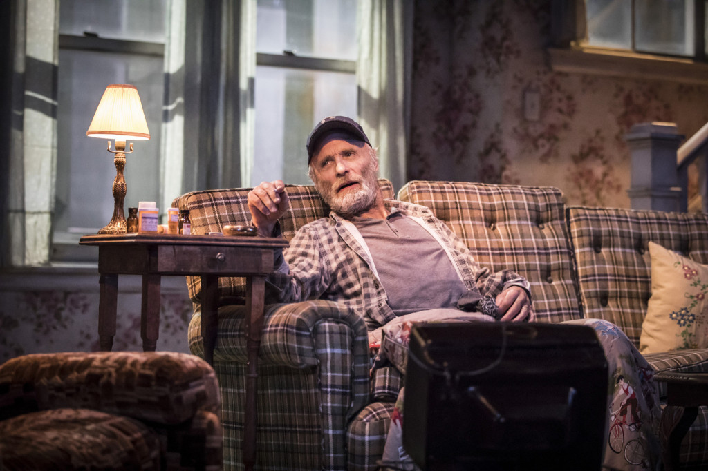 © Johan Persson, Ed Harris as Dodge, in the dying throes of...