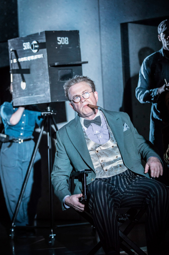 © Johan Persson, Harry Enfield as blundering, mesmerised studio boss, Glogauer