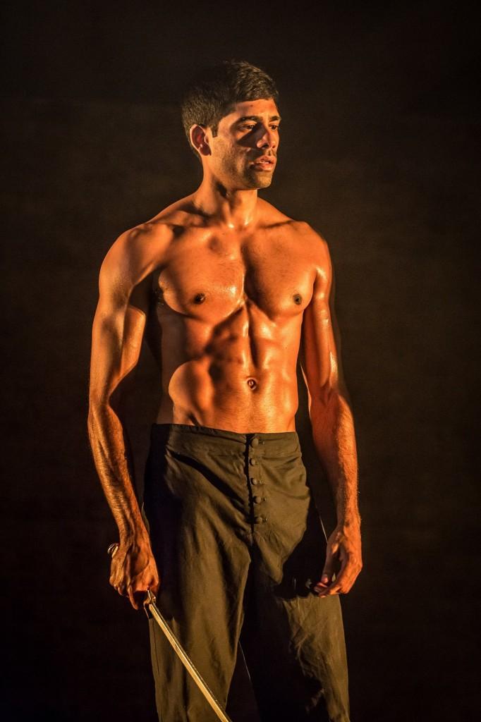 © Marc Brenner, Darren Kuppan as Babur, in Humuyan's memory...