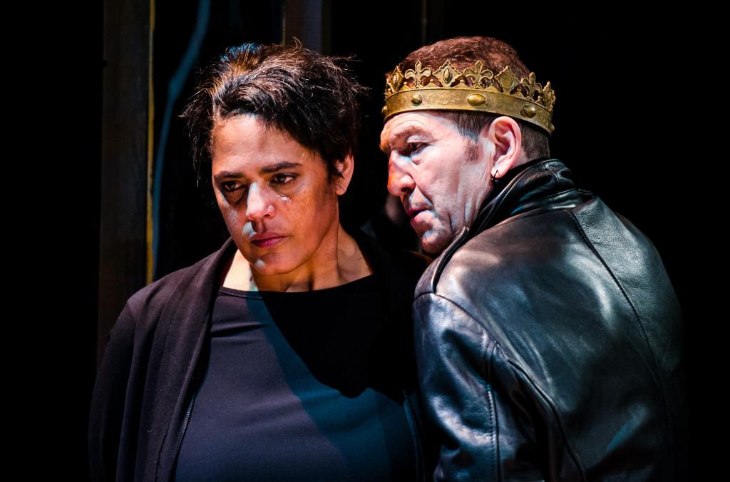 © Alex Brenner, Sarah Powell as Queen Elizabeth, Greg Hicks Richard