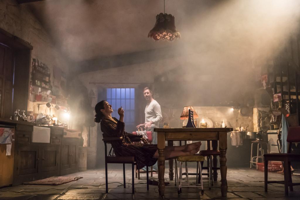 © Johan Persson, Laura Donnelly as Caitlin Carney and Paddy Considine as Quinn Carney...