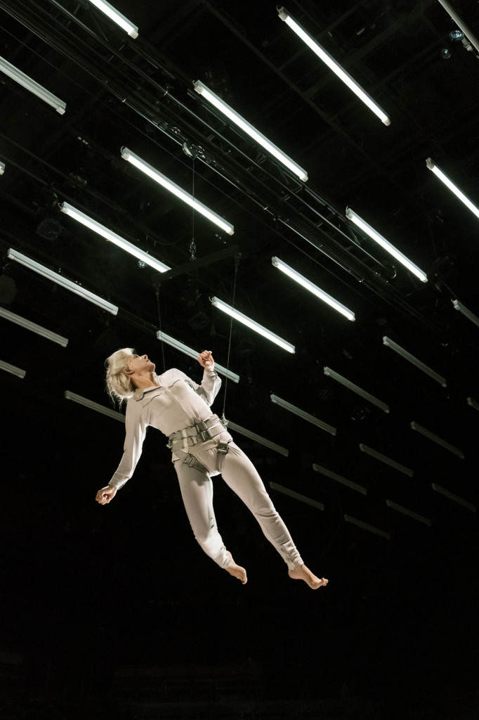 © Johan Persson, Juliet Stevenson as Mrs Stilson, soaring, escaping...