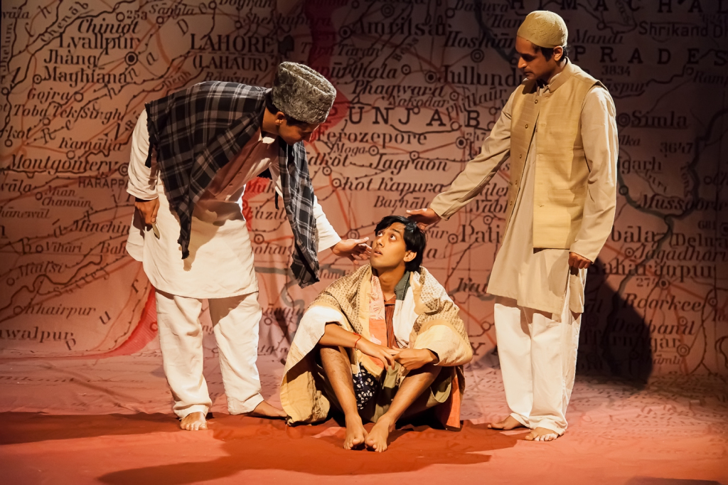 © Katherine Leedale, Diljohn Singh as Manohar, Pali's father, Karan Gill as Pali, Devesh Kishore as Shakur