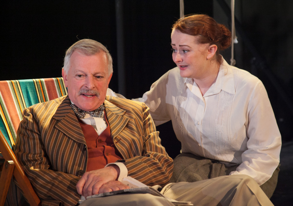 © Phil Gammon, David Acton as Dr Farley, Stephanie Willson as Miss Mathieson - `Mattie'
