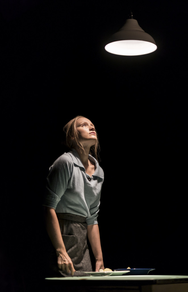 © Johan Persson, Emily Berrington as the young woman undergoing all manner of hellish experiences as a woman...!