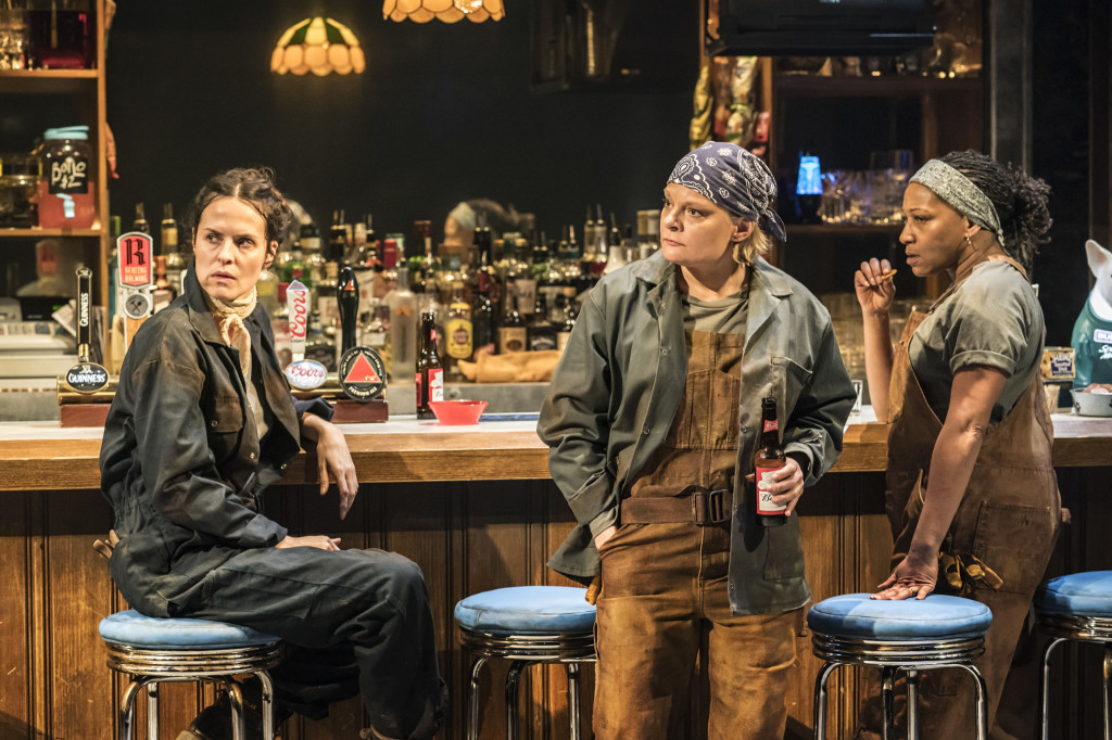 © Johan Persson, with Leanne Best (Jessie), Martha Plimpton (Tracey), Clare Perkins (Cynthia)