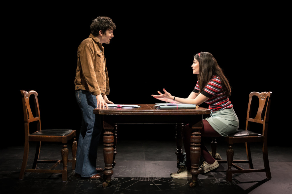 © Scott Rylander, Dario Coates as Matthew Rubenstein beginning to trace the legacy of his parents with Anna (Katie Eldred), the daughter of the man (and brother-in-law)  who `betrayed' his parents and with whom he's just started a relationship...