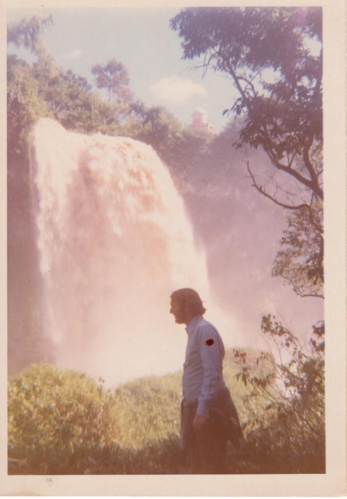 Paul, Iguazu Falls, Arg