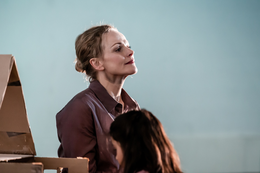 © The Other Richard, Maxine Peake as the Woman with the dream of child-bearing and her `childling' vision...