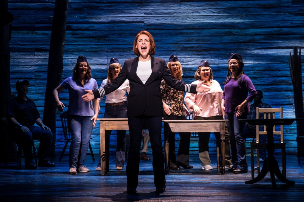 © Matthew Murphy, Rachel Tucker, female airline pilot in full voice...