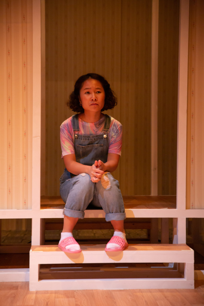 © Dante Kim, Anna Nguyen as young Mai, bursting to break out from her mother's clamping aspirations for her family as a Vietnamese immigrant in England in the 1980s and 1990s.